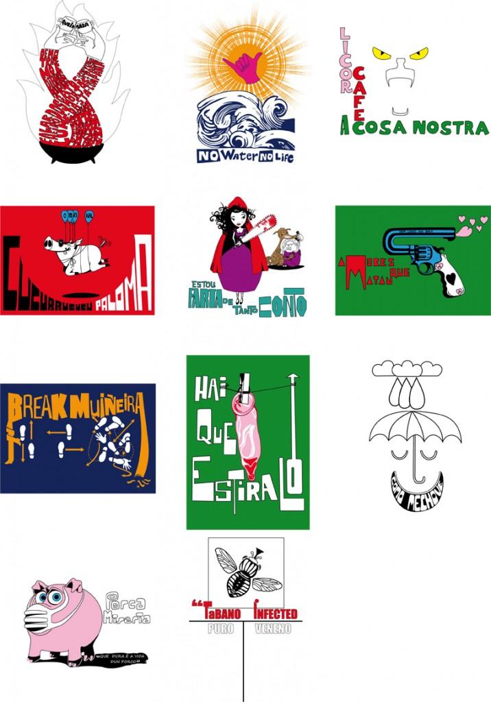 T-shirt-seriegraphie
